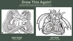 Draw This Again - Dragons Anniversary