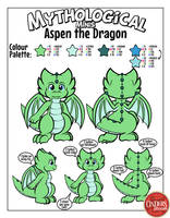 Minis Reference - Aspen the Dragon