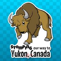 Sticker - Yukon Bison