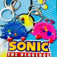 Shaker Charms - Sonic and Amy