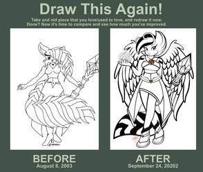Draw this Again - Samantha the Kii