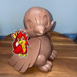 Cinder Monster Clay WIP