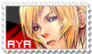 aya brea stamp by c-toxic