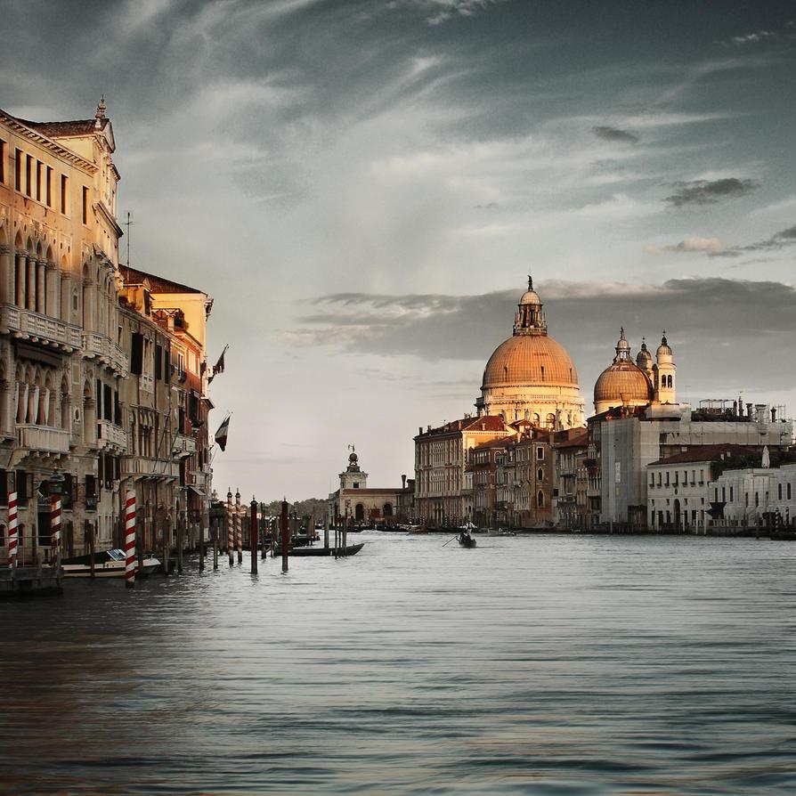 Venedig ein Touristentraum by Bildmalerin