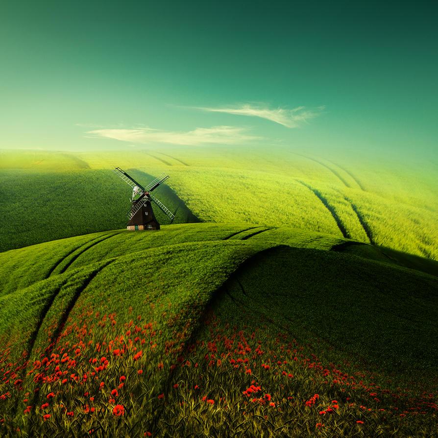 Traumlandschaft by Bildmalerin
