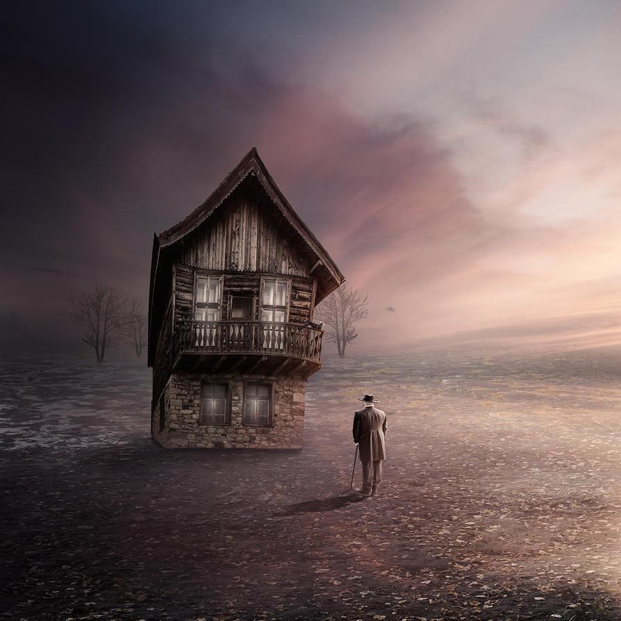 Heimweg by Bildmalerin