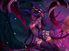 Bewitching Evelynn (league of legends)  by EvBel