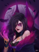 Morgana rework (league of legends)  by EvBel