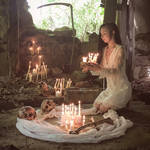 Candle light by catacombculture