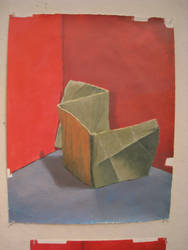 Paper Still Life in Acrylic - Third Pass by Alexios2