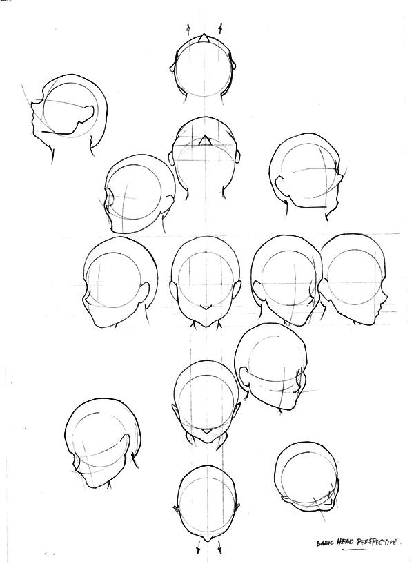 perspective of head by oddsbidikin