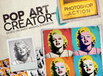 POP ART Creator PRO - Photoshop Action, PSD Plugin