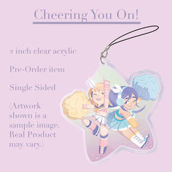 Cheering You On charm preview