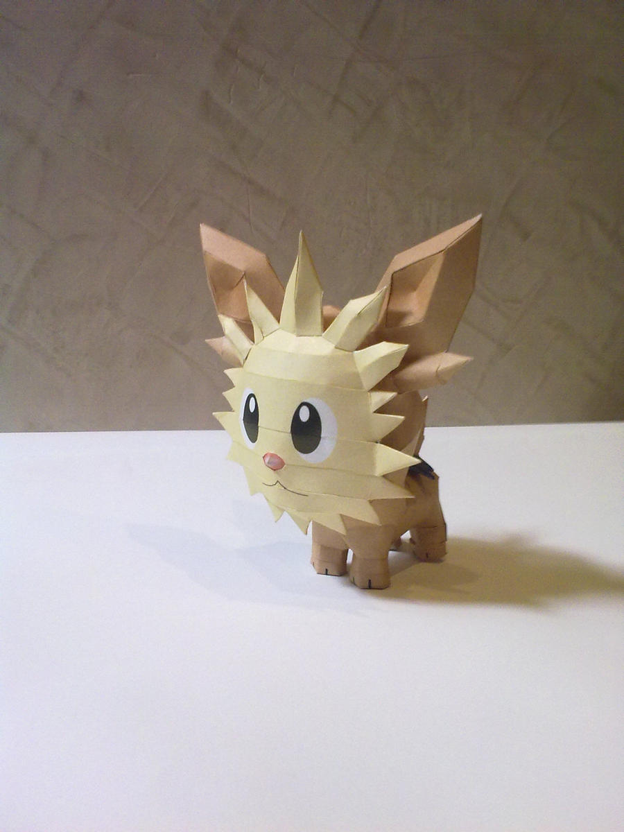 Lillipup Papercraft 2 by kyogre92