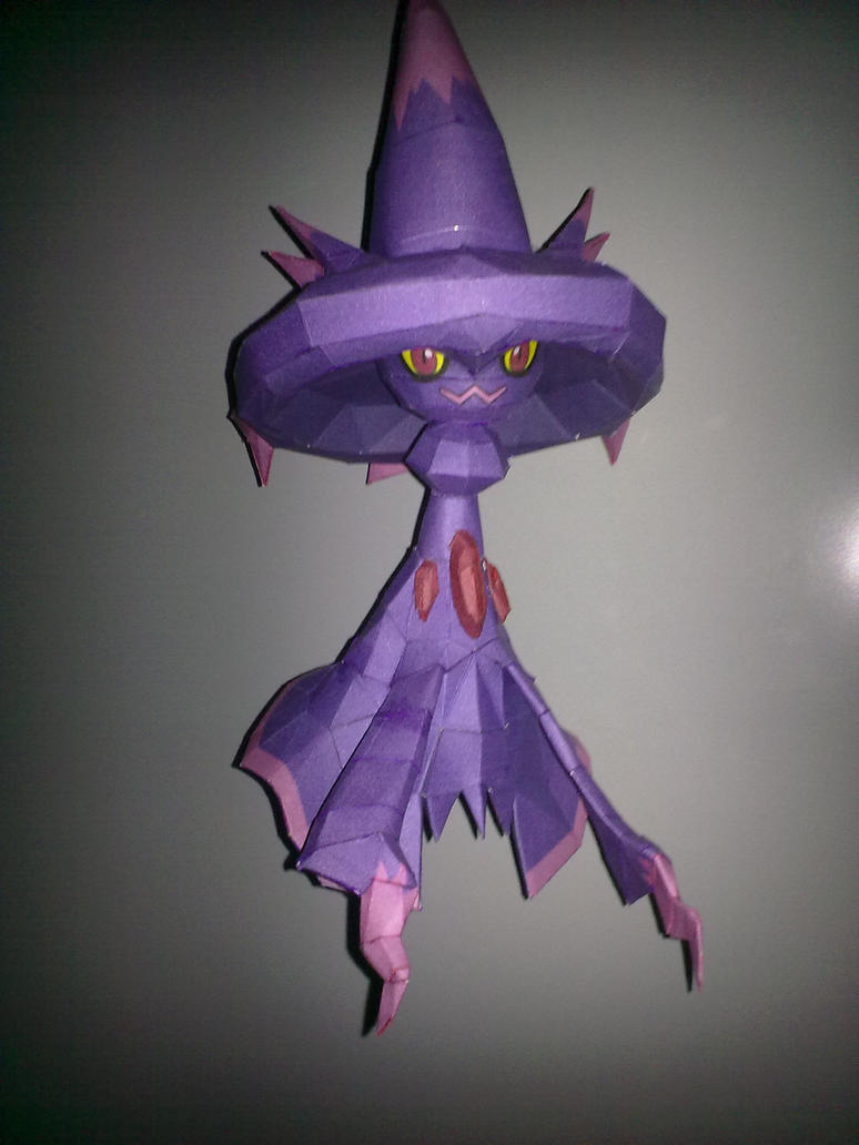 Mismagius Papercraft by kyogre92
