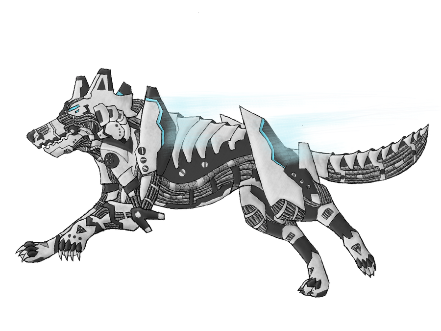 Robot Wolf 2 By W0LFKEN On DeviantArt