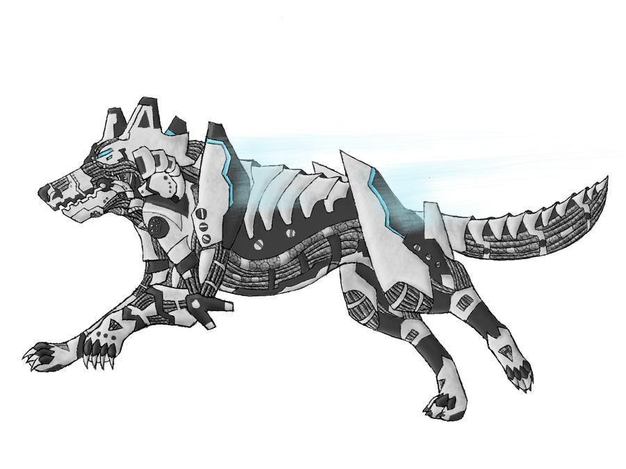 Deviantart Robot Animals: Robot Wolf 2 By W0LFKEN On DeviantArt