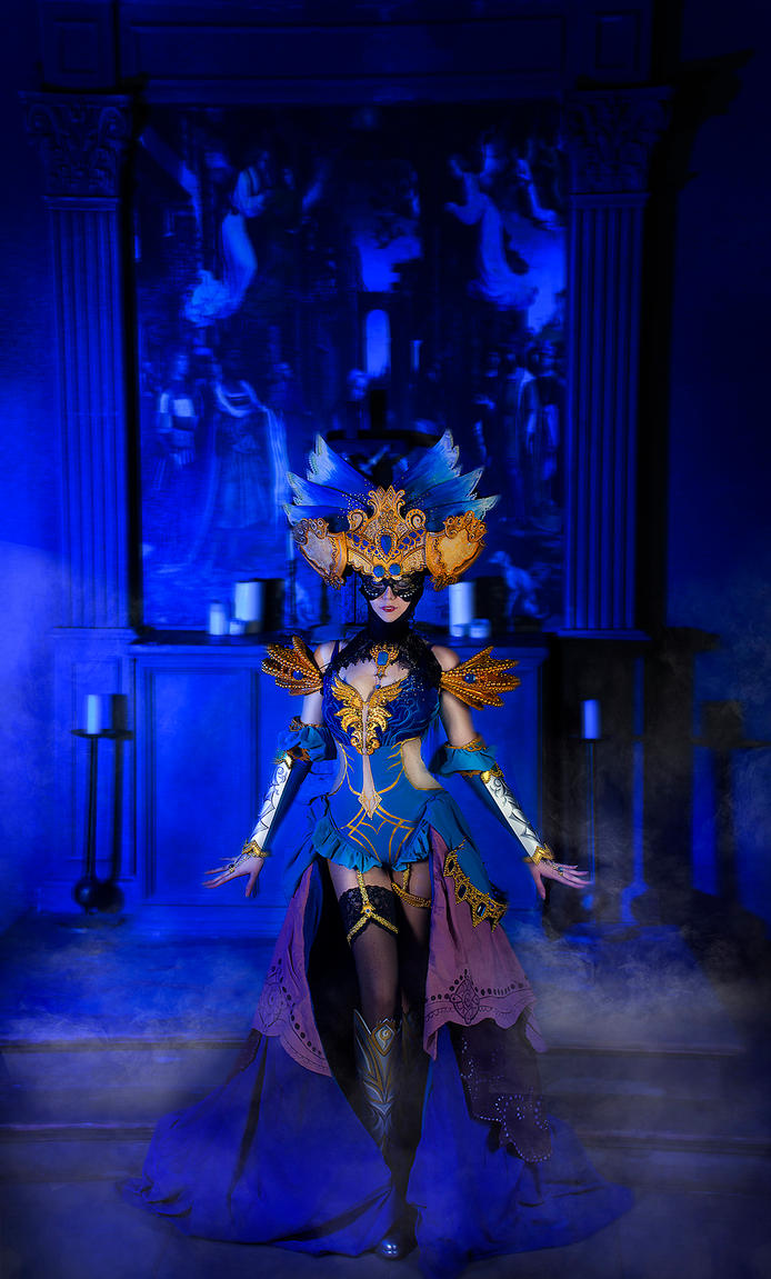 Masquerade - Guild Wars by Vostrikova-Nina