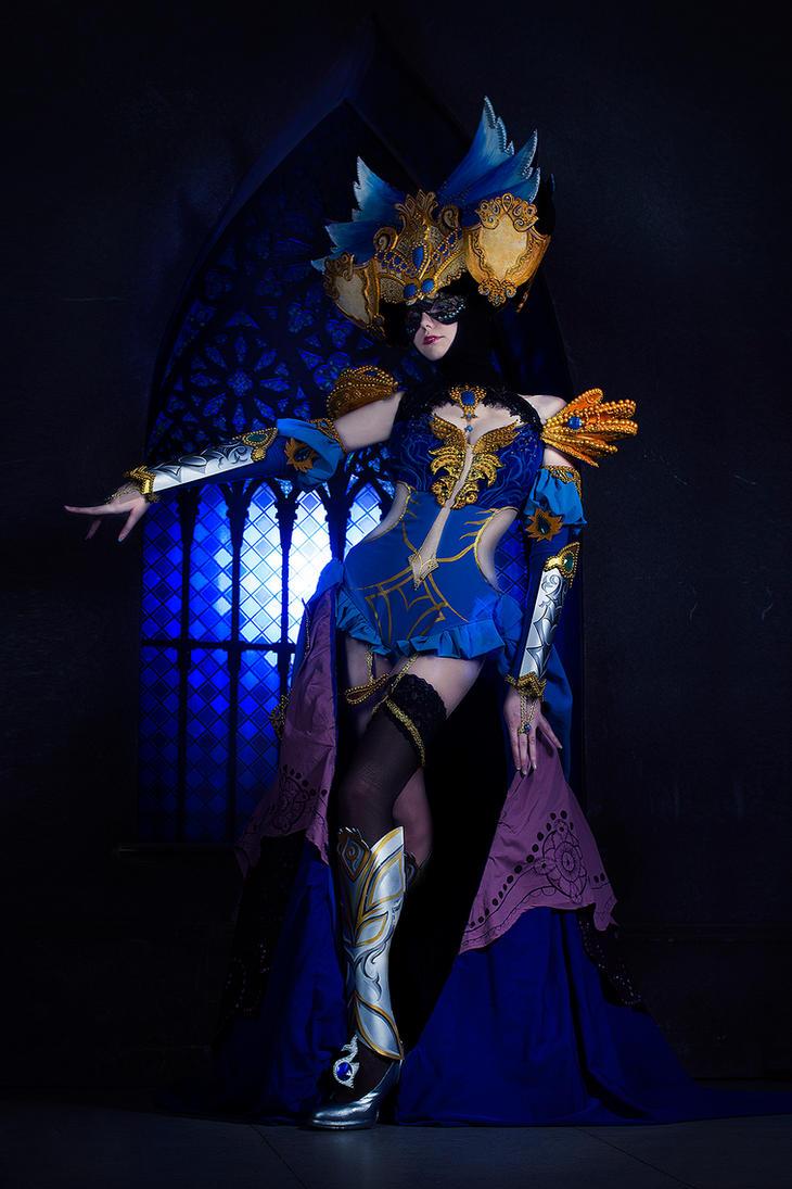 Guild Wars -Masquerade by Vostrikova-Nina