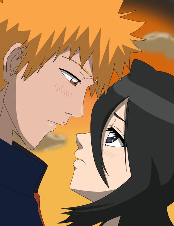 ichigo and rukia kiss - photo #32