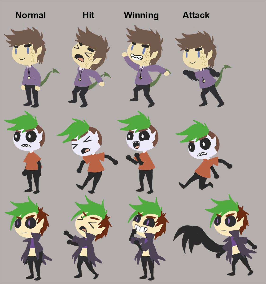Character Design For Games Book : Character sprite for game design by vey kun on deviantart