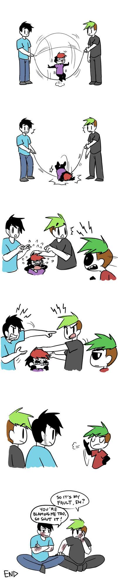 Ending a Dispute by Vey-kun
