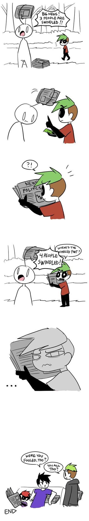 Fooled by Vey-kun
