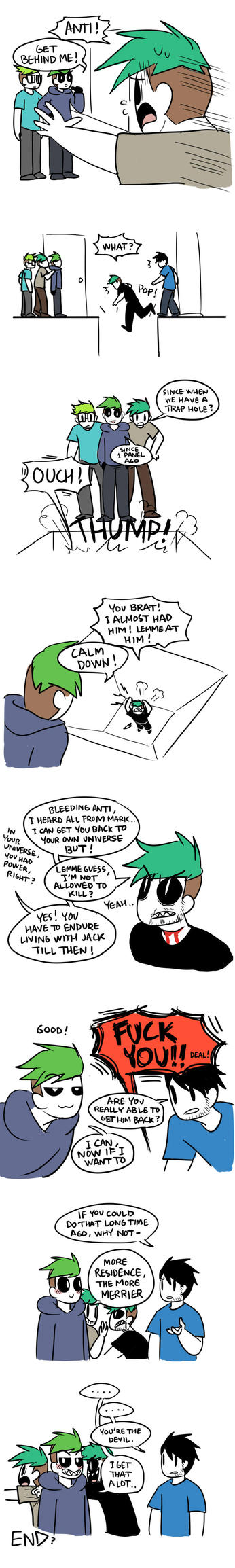 Very First Meeting 9 by Vey-kun