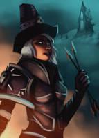 Vampire Hunter Valla by Karoosa