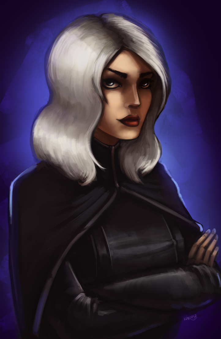 [Commission] Emily Shadow by Karoosa