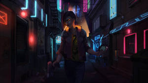 Cyberpunk 2077 fanart