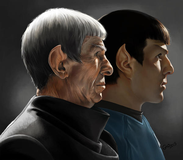 Homage to Star Trek by giovannag
