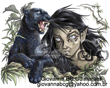 Black Jaguar by giovannag