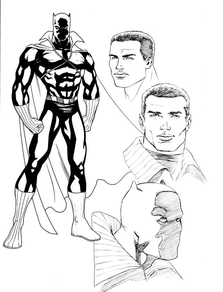 Black Panther Sketch by PORTELA on DeviantArt