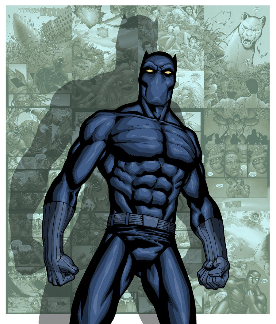 BLACK PANTHER By PORTELA On DeviantArt