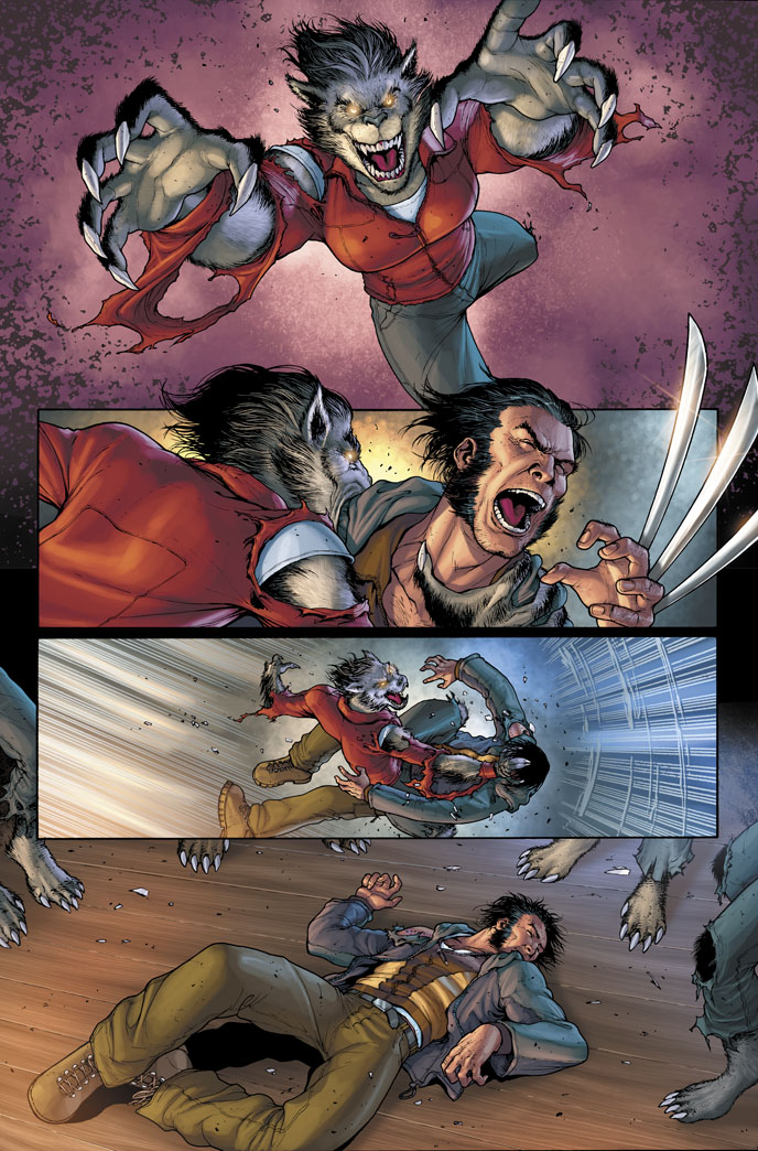 Wolverine vs Werewolves 2 by PORTELA on DeviantArt