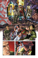 Legion of SuperHeroes 1 page 2 by PORTELA