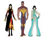 LSH character design