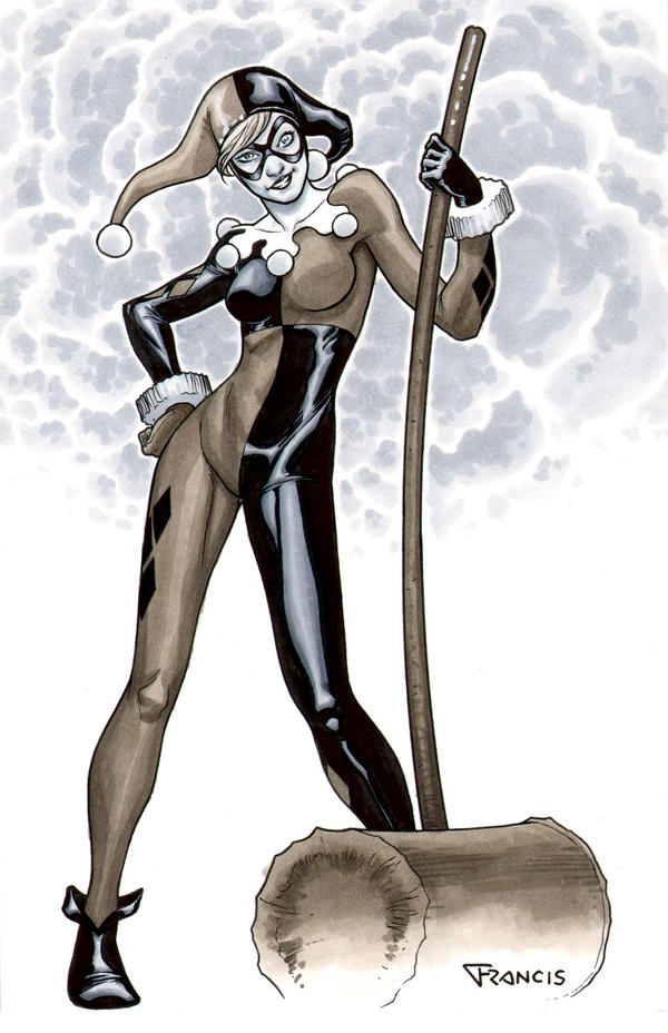 Harley Quinn by PORTELA