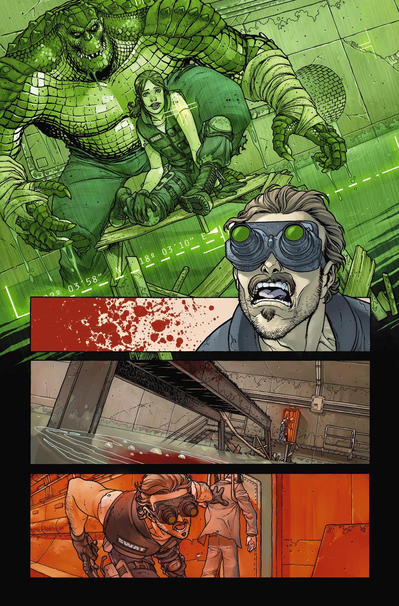 Killer Croc 3 by PORTELA
