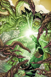 GREEN LANTERN CORPS 29 cover by PORTELA