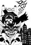 Batman on Gargoyle