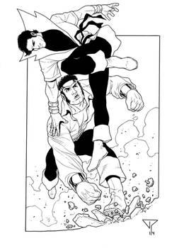 Karate Kid vs Powerman