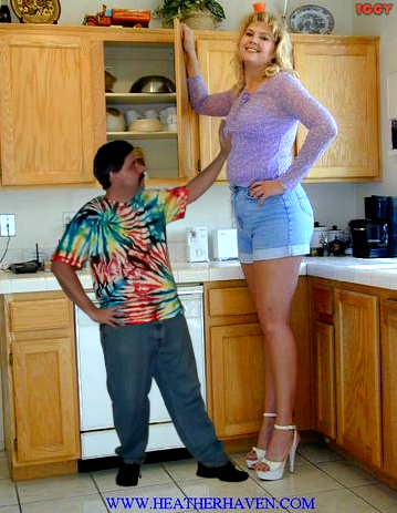 the tall woman and her short husband essay