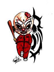 Shawn Clown Chibi (Slipknot) by Eddie-Dexter