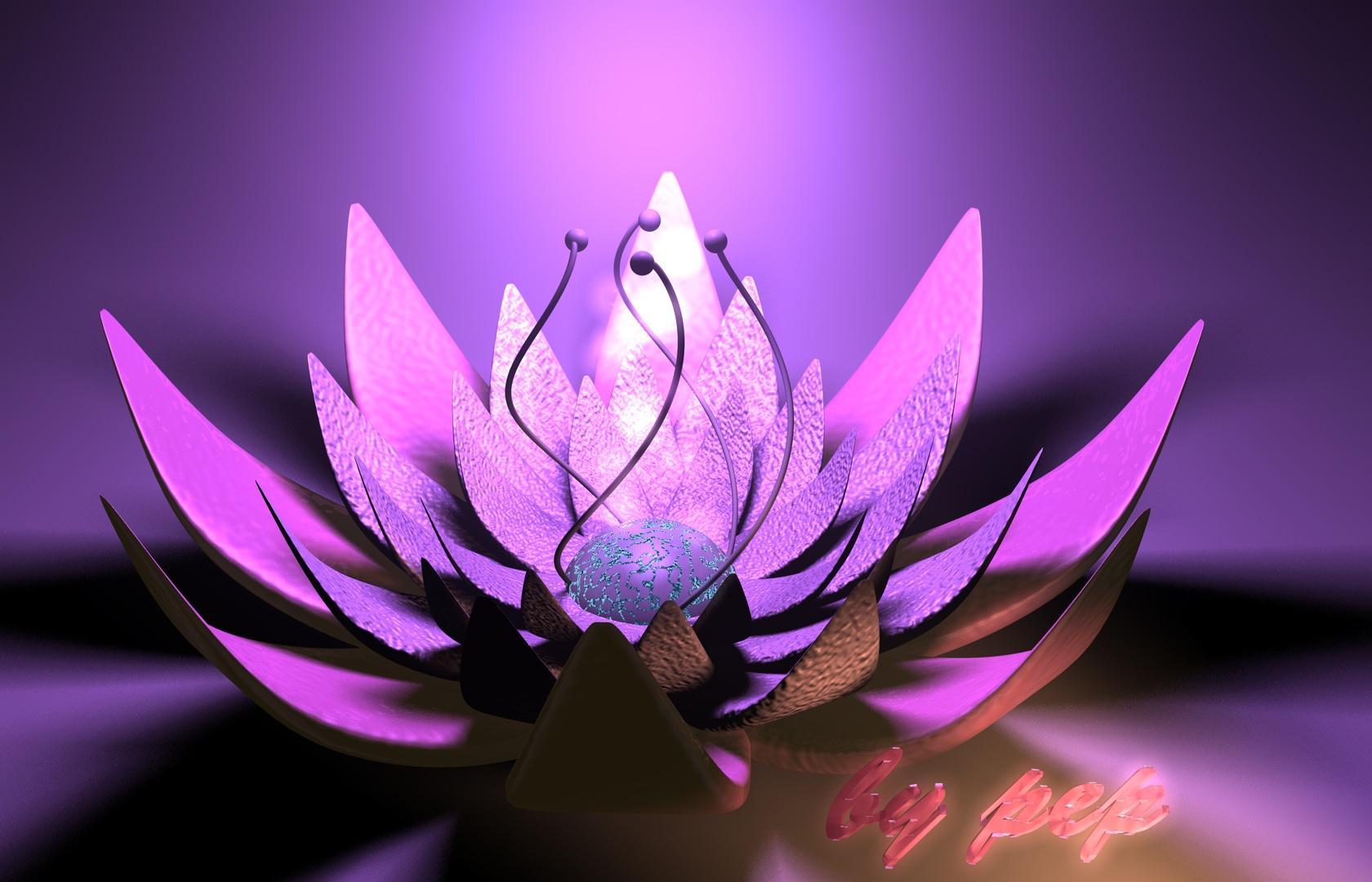 Wallpaper fleur 3D by pepgraff on DeviantArt