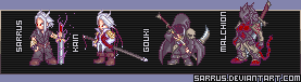 Character Sprites 1 by sarrus