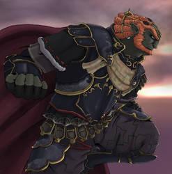 Dark King, Ganondorf. by sarrus