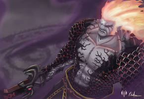 -- Zelda Tribute -- Demise by sarrus