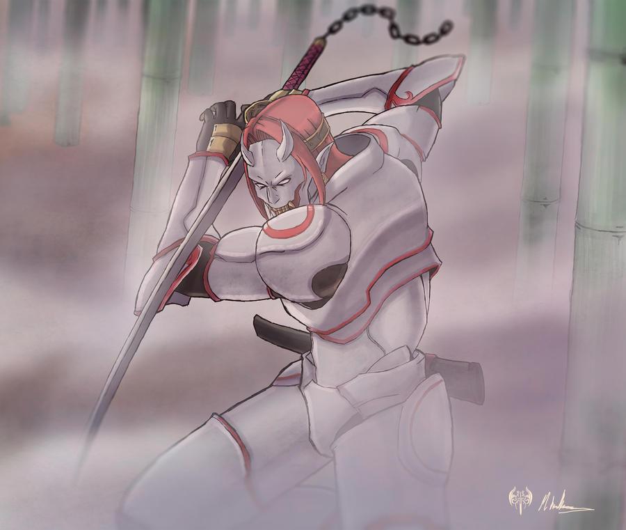 -- Tekken Tribute -- Yoshimitsu P1 by sarrus